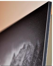 tirage photo sur aluminium