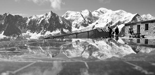 Orientation et Mt Blanc